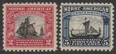 Vintage 1925 Issues - Norse-American Ships - Mint Never Hinged [2]