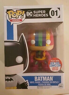Rainbow Yellow Dorbz #036 Vinyl Figure by Funko *NEW* DC Comics Batman