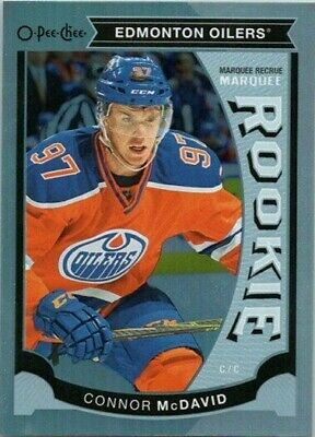 2015-16 O-Pee-Chee Platinum Update Connor McDavid Rookie Card #u11 Hockey