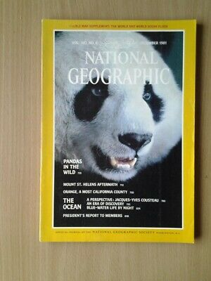 National Geographic Magazine  December 1981