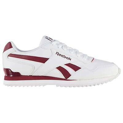 Reebok Mens Royal Glide Ripple Clip Trainers Sports Shoes Classic Lace Up