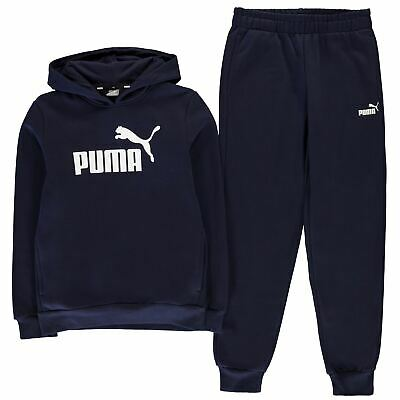 Puma Kids Boys OTH Hoodie And Joggers Set Junior Fleece Tracksuit Hoody Hooded