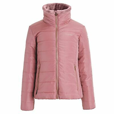 Regatta Kids Girls Wrenhill Jacket Insulated Coat Top Long Sleeve Zip Full Warm