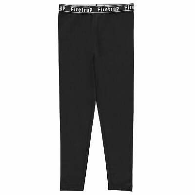 Firetrap Kids Girls Leggings Junior Pants Trousers Bottoms Elasticated Waist