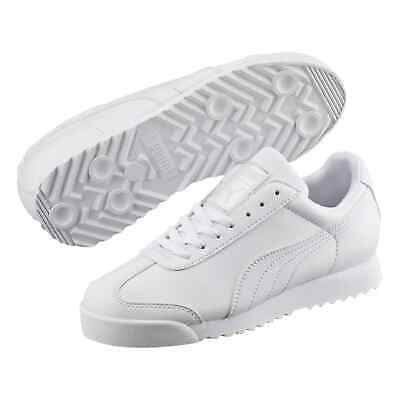 Puma Kids Boys Roma Basic Trainers Sports Shoes Child Low Top Lace Up