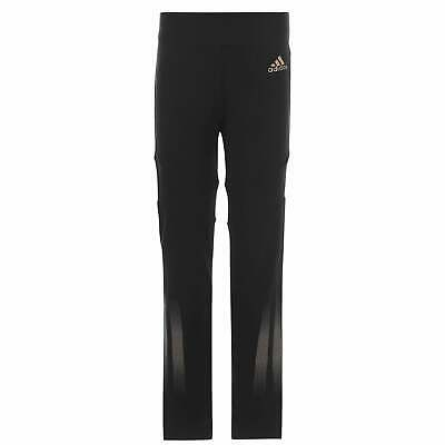 adidas Kids Girls ID Holiday Tights Performance Pants Trousers Bottoms Mesh