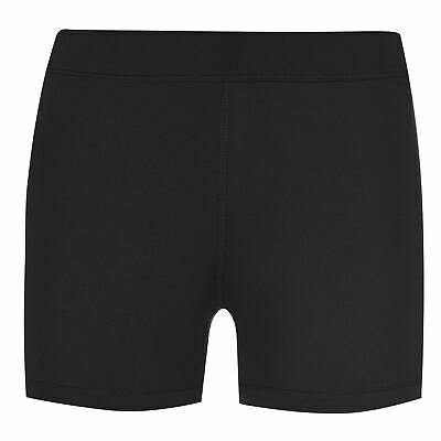 USA Pro Kids Girls 3 Inch Training Shorts Junior Performance Pants Trousers