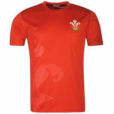 Rugby World Cup Mens 2019 Poly T Shirt Crew Neck Tee Top Short Sleeve Regular