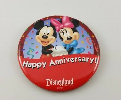 Happy Anniversary Mickey Mouse Minnie Mouse Acrylic Cake