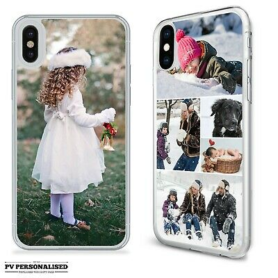 Personalised One Photo Collage Plastic Phone Case Cover Apple Iphone X Xs Xr 11