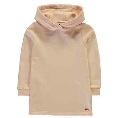 Firetrap Kids Girls Hoodie Dress Infant Midi Hoody Hooded Top Long Sleeve