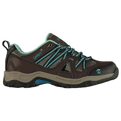 Gelert Womens Ottawa Low Walking Shoes Non Waterproof Lace Up Padded Ankle