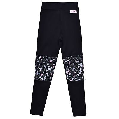 USA Pro Kids Girls Little Mix Panel Tights Junior Performance Pants Trousers