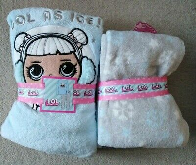 Girls LOL Cute  Doll Cool As Ice Winter Fleece Pyjama Set  Age5-10 Years Primark