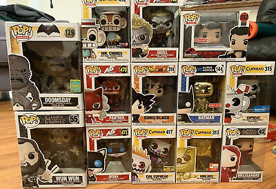 Funko Pop! Lot of 13 - Game of Thrones, Cuphead, Batman, more! $146 PPG Value