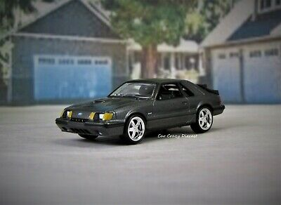 1984 - 1986 Ford Mustang SVO Turbocharged 1/64 Limited Edit. Diorama or Display