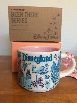 Disneyland Disney Starbucks Been There Series BTS Mug Xmas ORNAMENT Espresso 2oz