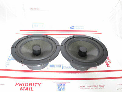 Pair of used Eton 7-372 HEX B Woofers 8 Ohm