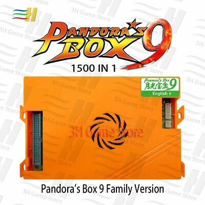 Pandora box 9 1500 in 1 family arcade game motherboard multi game pcb HDMI VGA