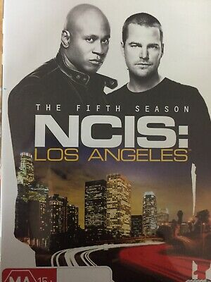 NCIS LOS ANGELES - Season 5 6 x DVD Set Exc Cond! Complete Fifth Series Five