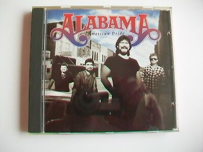 Alabama - American Pride - 11 Track Cd, 1992 In Great Condition