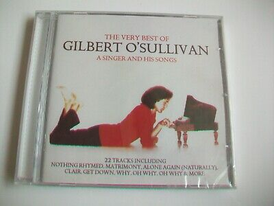 The Very Best Of Gilbert O'sullivan - 22 Track Cd, New & Sealed - 2012