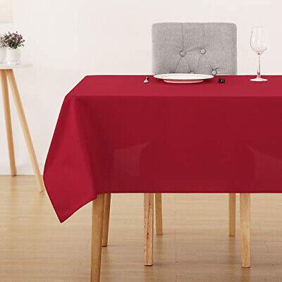 Deconovo Christmas Decorations Oxford Water 137x274cm(54x108in), Red