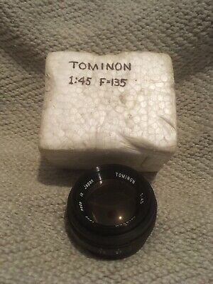 Tomlinson enlarger lens F 135