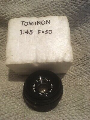 Tomlinson enlarger lens F 50