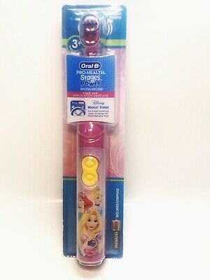 Lot of 2 Oral-B Pro-Health Stages Power Disney Princess Electric Toothbrush