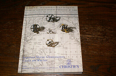 Christie's Sale Catalogue Important Marine Chronometers, Clocks And Watches