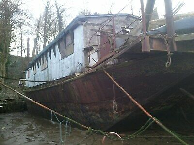 Huge House Boat Project - Live Aboard