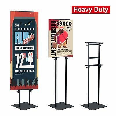 """Heavy Duty Floor Standing Sign Slip Mat Base,Height  Up to 82.6"""""""