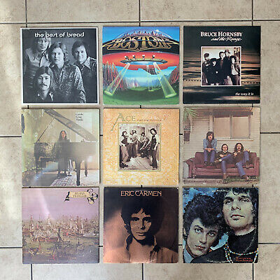 Mixed 7 Records Lot Classic Rock – 60's 70's & 80's Vinyl Albums LPs – VG to VG+