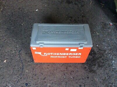Rothenberger Rofrost Turbo Electric Pipe Freezer  240V