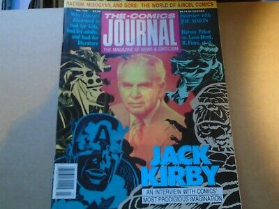 THE COMICS JOURNAL #134 50 page Jack Kirby Interview