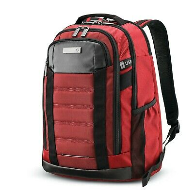 Samsonite Carrier GSD Backpack Red Fast Shipping , Brand New
