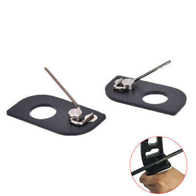 1Pc Hunting Arrow Rest Archery Stainless Steel Left Right Hand Magnetic Rest ZB