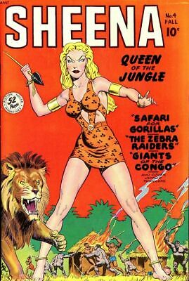 Sheena Queen of the Jungle Comics on a DVD-Rom 185 Issues with reading software