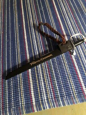 Disney Parks Pirates Of The Caribbean Sword Pen in Scabbard Keychain