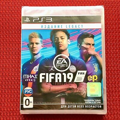 FIFA 19 Legacy Edition Sony PlayStation 3 PS3 Brand New Sealed in Stock