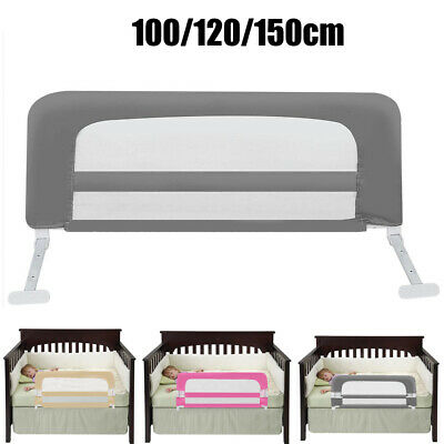 100/120/150cm Baby Bed Guards Folding Toddler Bed Side Rail Safety Protection