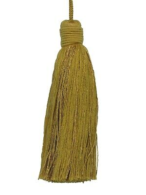 CONSO 4/' BELL Gold//Green Color VNT 17 tassels 6pcs