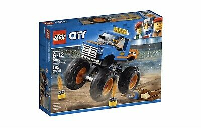 LEGO City 60180 Great Vehicles Monster Truck 192pcs Set Building Blocks Toy Kids