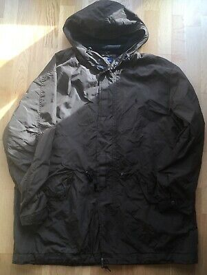 Mens Authentic Ralph Lauren Polo Designer Brown Parka Jacket Coat Size Xxl 62""