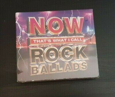 Cd Triple Album - Now Thats What I Call Rock Ballads - New And Sealed