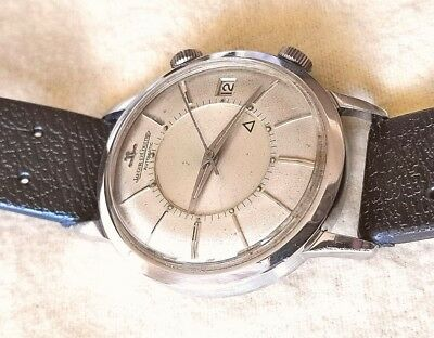 Jaeger le Coultre Memovox JLC Alarm Watch svegliarino oversize 38mm 825 855 date