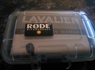 RØDE LAVALIER. Lapel mic plus accessories