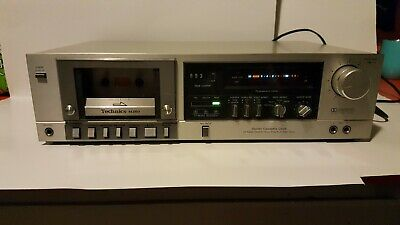 Vintage Technics RS-M260 Stereo Cassette Deck Tested Works Great