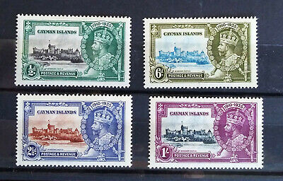 British Colonial Stamps - KGV Jubilee omnibus-Cayman Islands